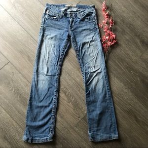 Big Star sweet boot cut jeans low rise 28L